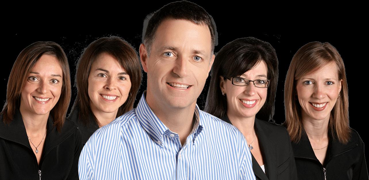 Équipe de la clinique du Dr Claude Gariépy orthodontiste ville de Québec